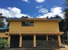 La casa getting paint.